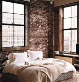 Delicate Exposed Brick Wall Ideas For Interior Home Design 04