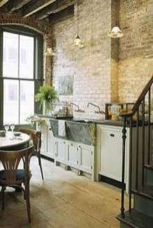 Delicate Exposed Brick Wall Ideas For Interior Home Design 33