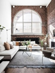 Delicate Exposed Brick Wall Ideas For Interior Home Design 42