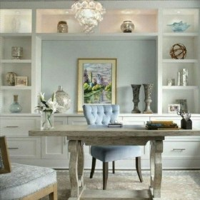 Delightful Home Office Design Ideas For Women 02