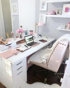 Delightful Home Office Design Ideas For Women 14