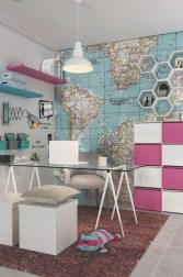 Delightful Home Office Design Ideas For Women 23