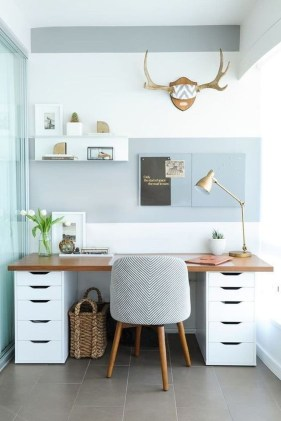 Delightful Home Office Design Ideas For Women 24