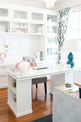 Delightful Home Office Design Ideas For Women 25