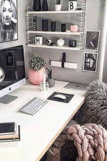 Delightful Home Office Design Ideas For Women 28