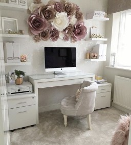 Delightful Home Office Design Ideas For Women 47