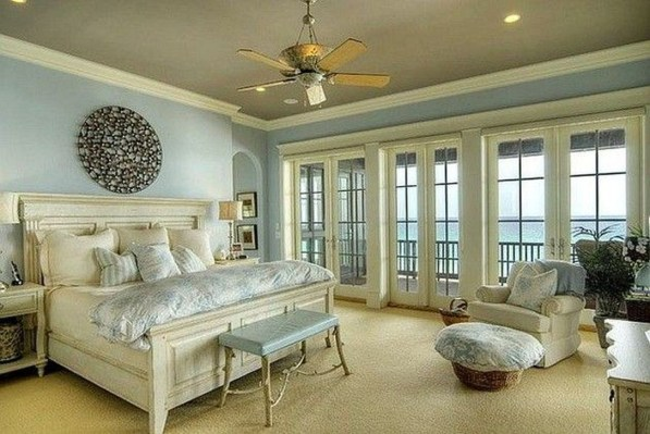 Enchanting Lake House Bedroom Design And Decor Ideas 11