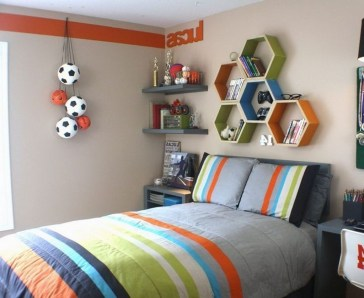 Excellent Teenage Boy Room Décor Ideas For You 27