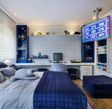 Excellent Teenage Boy Room Décor Ideas For You 28
