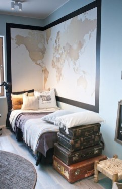 Excellent Teenage Boy Room Décor Ideas For You 45