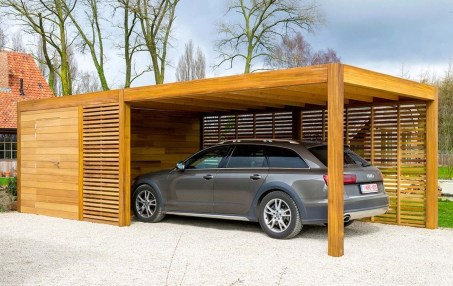 Graceful Car Garage Design Ideas For Your Home 13