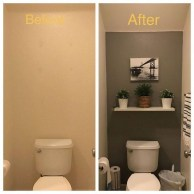 Hottest Small Bathroom Remodel Ideas For Space Saving 34