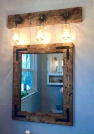 Newest Bathroom Mirror Decor Ideas To Try 26