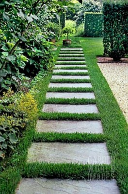 Popular Garden Path And Walkway Ideas To Your Outdoor Space 06