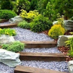 Popular Garden Path And Walkway Ideas To Your Outdoor Space 35