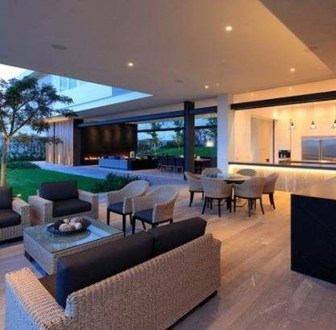 Relaxing Living Room Design Ideas For Outdoor 26