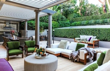 Relaxing Living Room Design Ideas For Outdoor 32