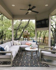 Relaxing Living Room Design Ideas For Outdoor 34