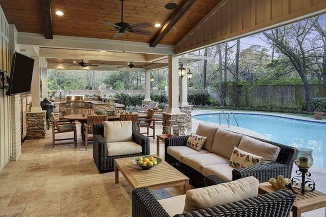 30+ Relaxing Living Room Design Ideas For Outdoor - COODECOR