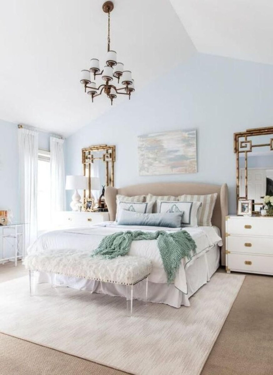 Top Blue Master Bedroom Design Ideas That Looks Great 08