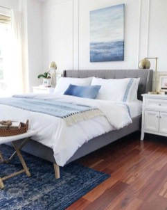 Top Blue Master Bedroom Design Ideas That Looks Great 21