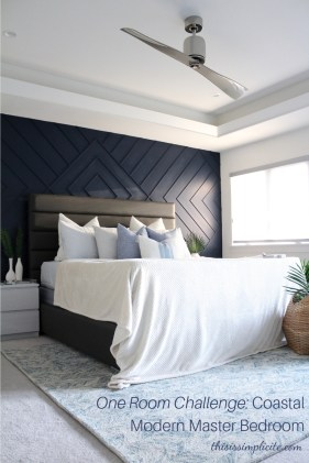 Top Blue Master Bedroom Design Ideas That Looks Great 35