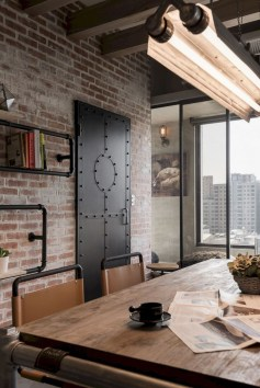 Trendy Wood Industrial Furniture Design Ideas To Try 31