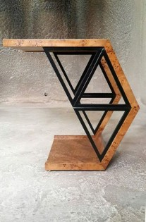Trendy Wood Industrial Furniture Design Ideas To Try 33