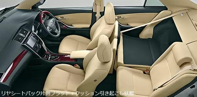 新型(現行)トヨタアリオンの後部座席・ラゲッジ評価まとめ