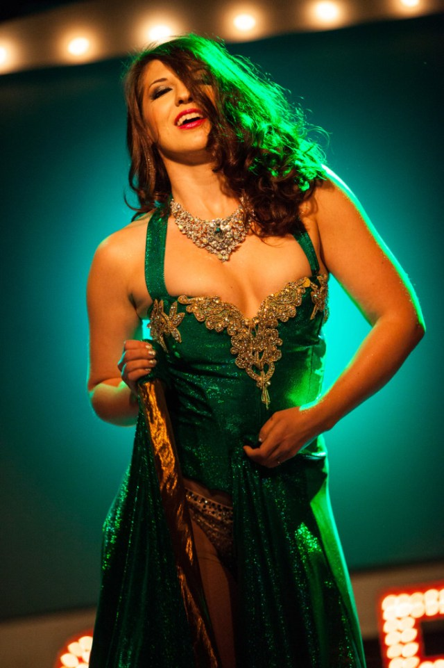 Renee Holiday performing with The Ruby Revue at the House of Blues - Dallas, TX