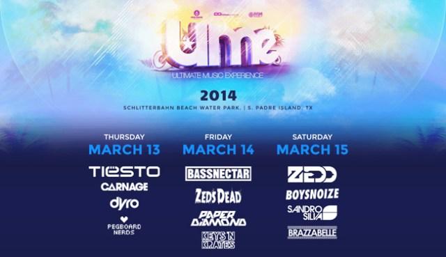 UME-2014-Lineup