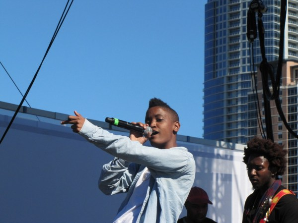In Syd tha Kyd's own words: SDGAF. (Look it up).