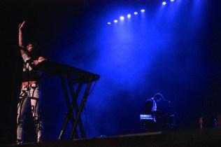 Phantogram graces the BMC stage. (Photo by Rupal Mehta)