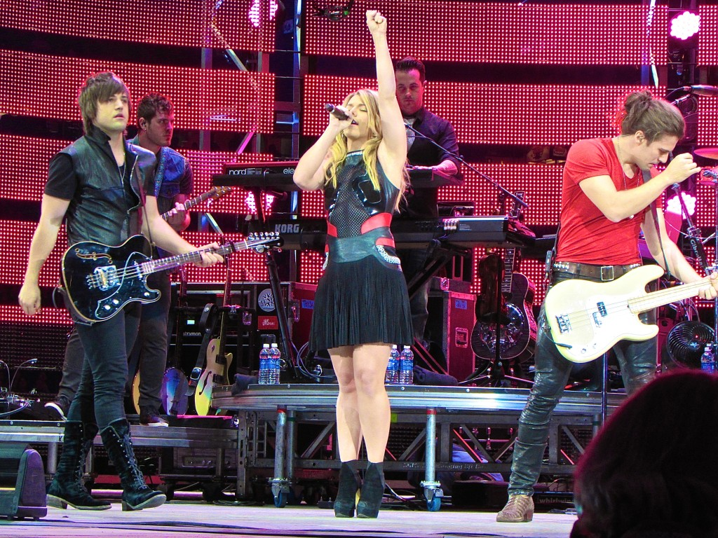 The Band Perry Leaves Rodeo Houston in Tears
