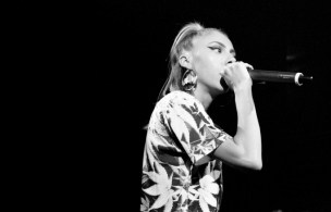 Lil Debbie performing