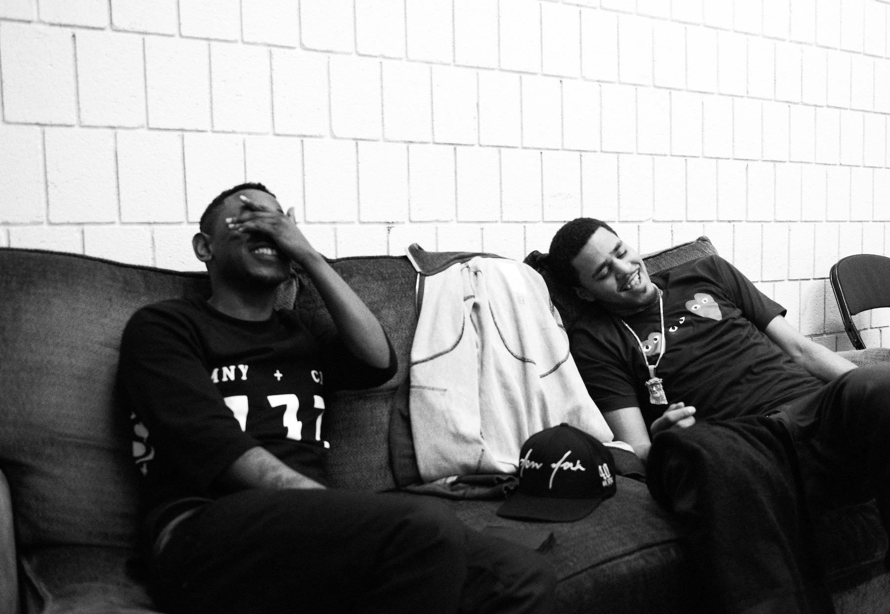 Kendrick & J. Cole's Surprise Freestyles On Each Other's Tracks