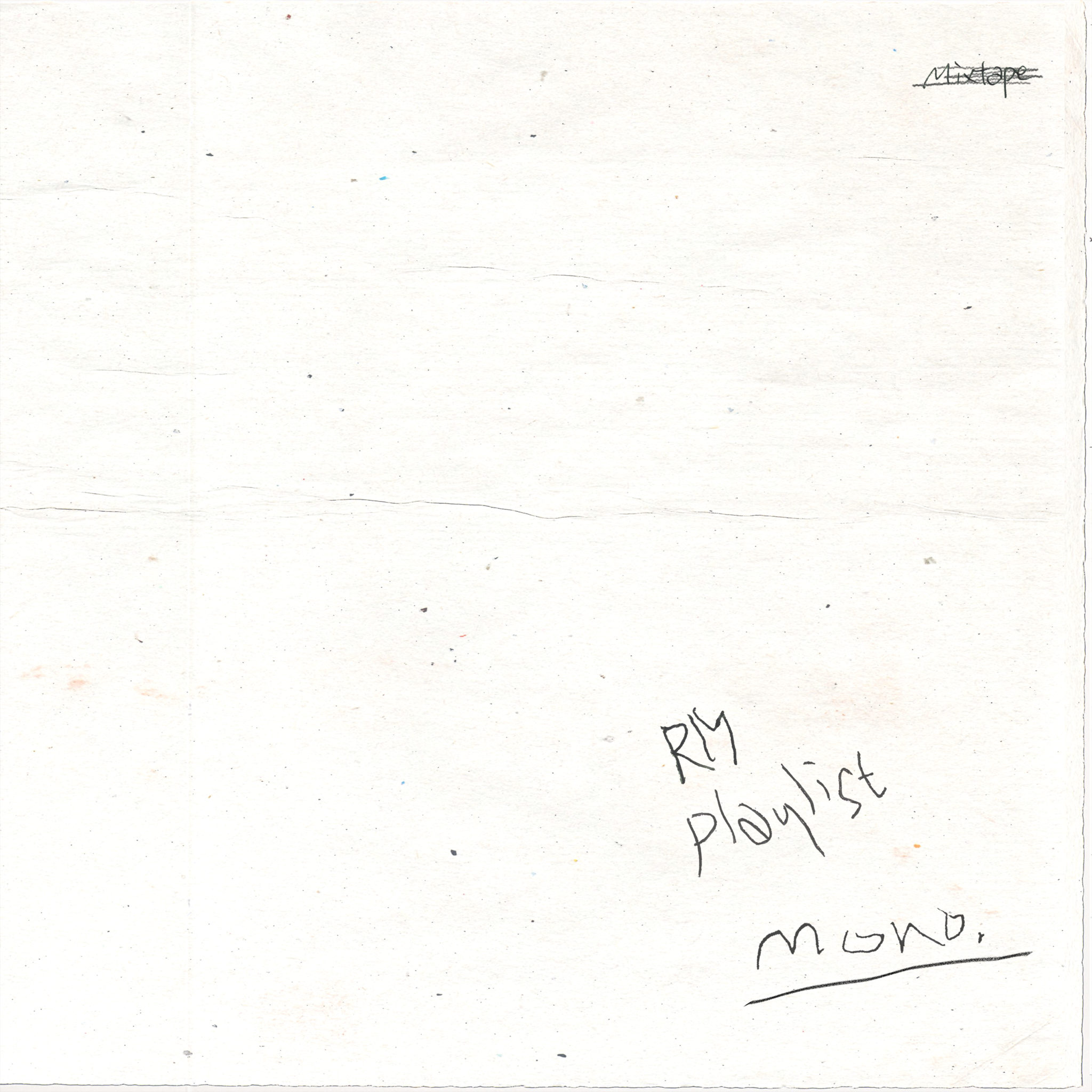 Album Review: RM's mono.