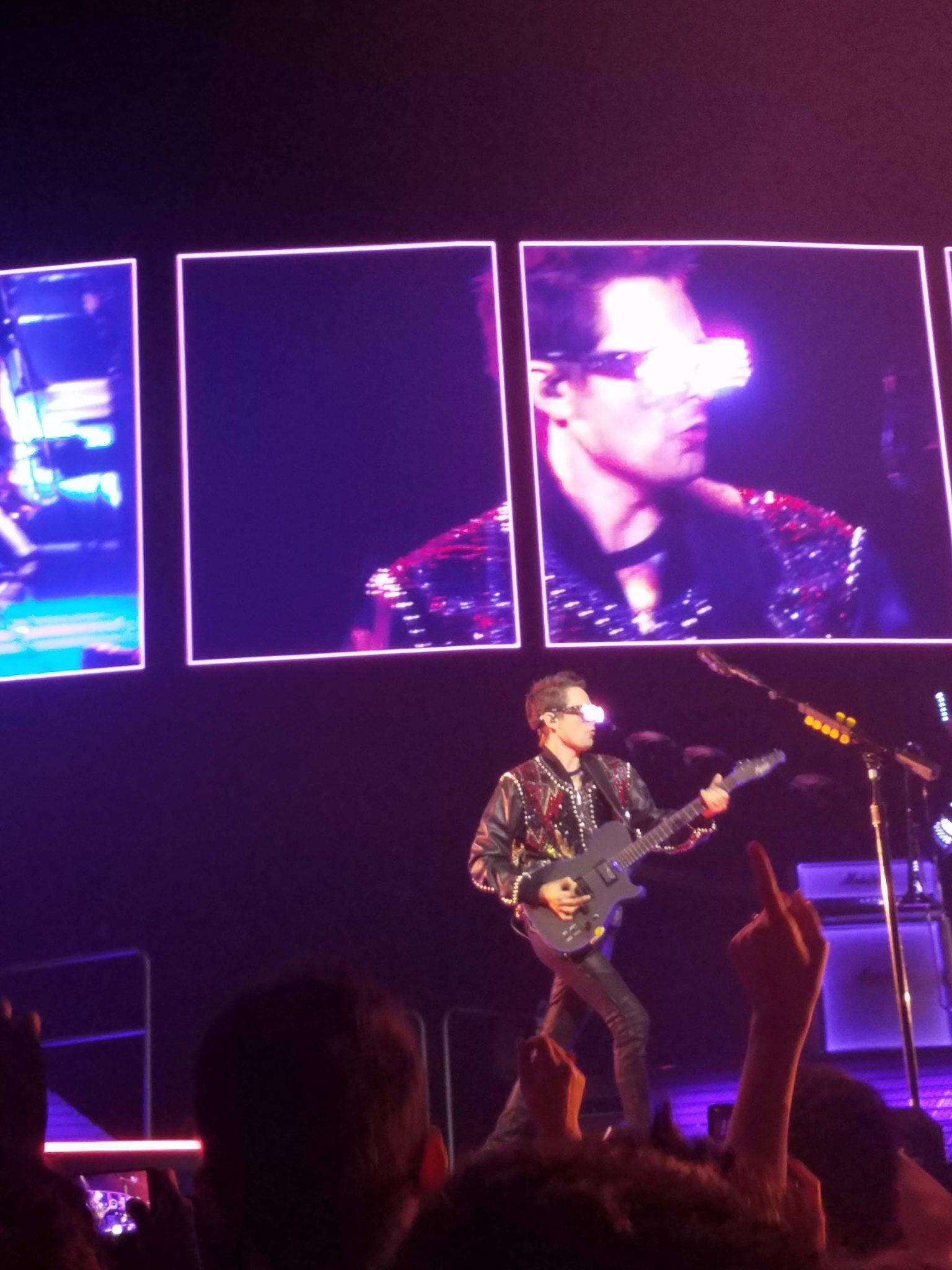 Muse Blows Minds in the Stellar Houston Stop of Their Simulation Theory Tour