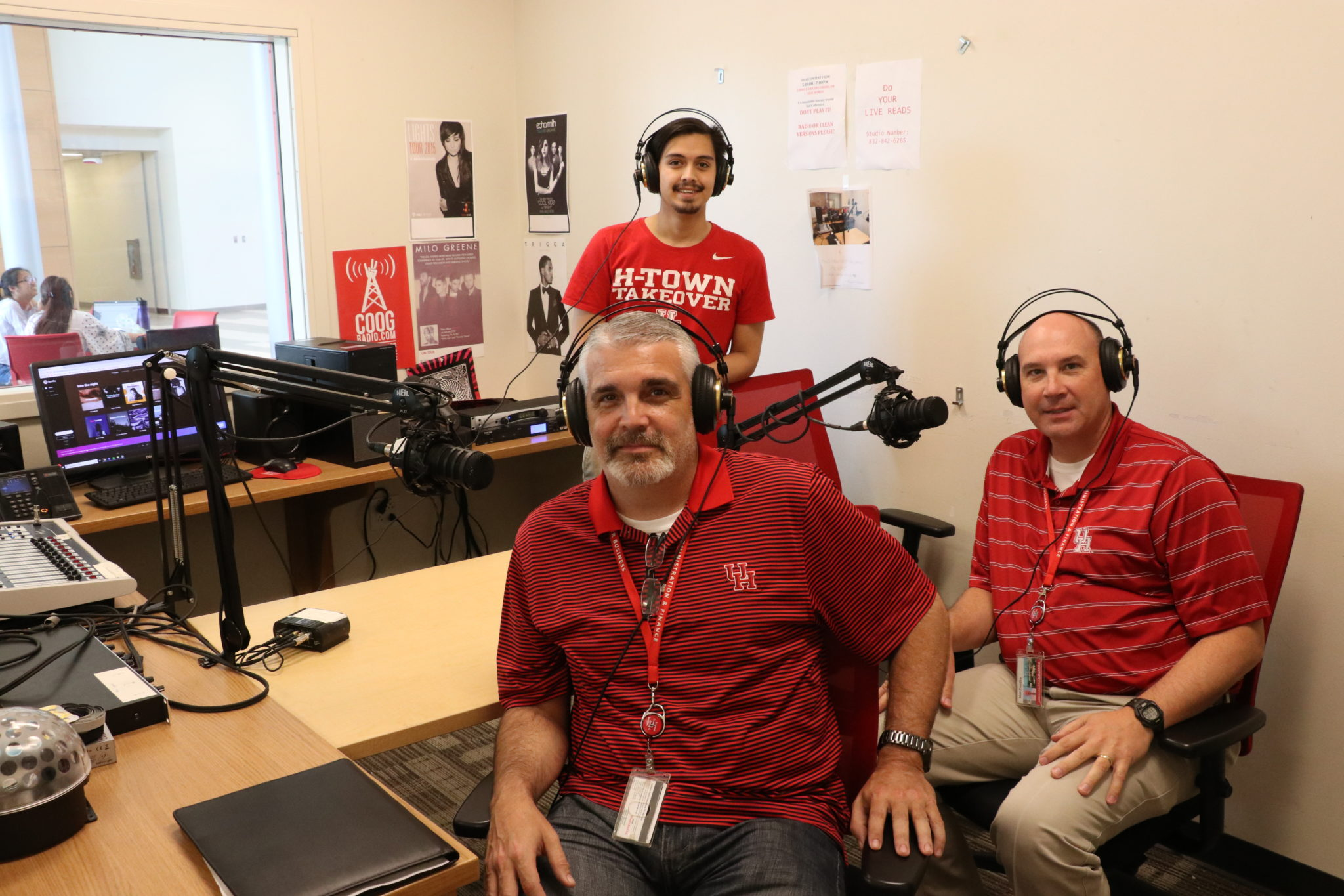 Coog Radio Interviews: Neil Hart and Matt Prasifka, Executive Directors of UH Parking and Auxiliary Services