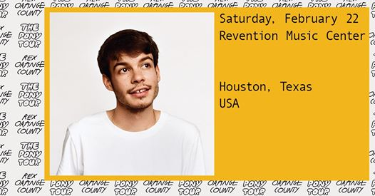 Rex Orange County Touring Houston
