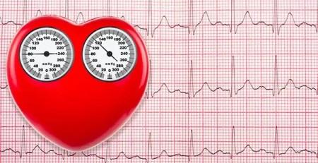 cuore pressione colesterolo concept