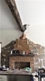 Fireplace flue complete
