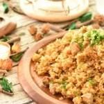 【ワンパン料理】フライパンと生米・残ったお肉で簡単チャーハン🍳【時短料理】~ Fried Rice with Leftover Meat【料理レシピはParty Kitchen🎉】