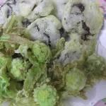ワカサギとふきのとうの天ぷら【普段料理をしない男の料理シリーズ】