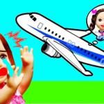 リカちゃん ケリーがお弁当ピクニックデート❤ 手作り料理をキッチンで♪ マクドナルドでアイスクリーム❤ 飛行機でレストランご飯 おしゃれ メイク おもちゃ バービー 人形 アニメ ここなっちゃん