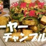 【沖縄料理①】簡単チャンプルー料理「第一弾」!!ゴーヤーチャンプルー