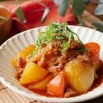 レンジ で 簡単! 韓国風 肉じゃが の レシピ 作り方