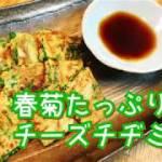 【料理動画14】簡単 料理 オシャレ パーティ 安い 春菊 たっぷり チーズ チヂミ