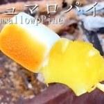【解説あり】川でBBQ!マシュマロパイン★アウトドア料理・レシピ/キャンプ飯/Marshmallow pine