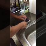 男の料理 ひとり暮らし 準備編 包丁研ぎ